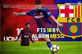 FTS 18 Mod by Alboin Messi