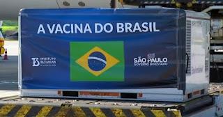 São Paulo recebe mais 2 milhões de doses da CoronaVac