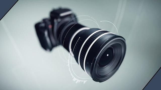 مقدمة قالب شعار عدسة الكاميرا للتصوير الفوتوغرافي Camera Logo بجودة عالية + التحميل مجاني