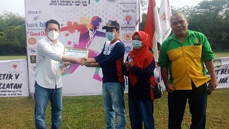 SDN Muncul 01 Juara Umum Kejuaraan Atletik PASI Antar Pelajar Kota Tangsel 2021