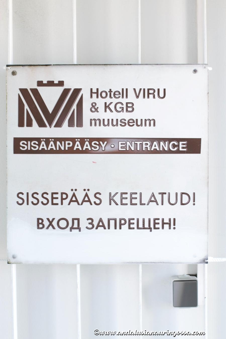 Viru-hotelli_KGB-museo_Tallinna_Andalusian auringossa_ruokablogi_matkablogi_4