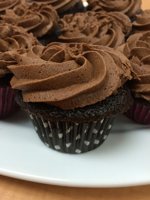 Chocolate Cupcakes by Our Good Life