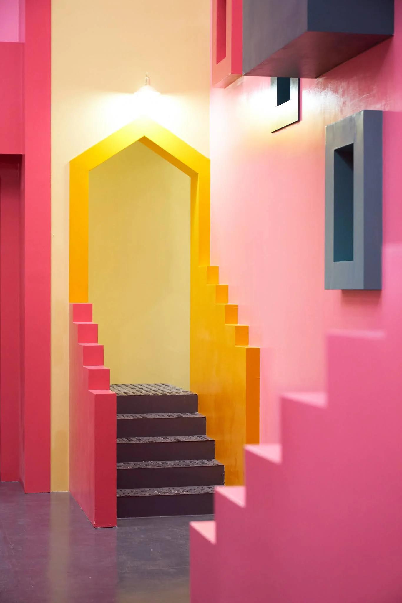 Raund 6 | Papel de Parede / Escadas