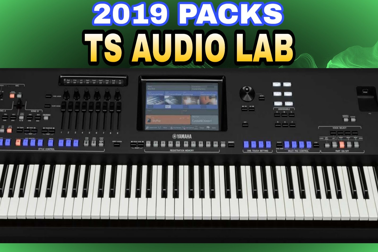 TS Audio Lab Yamaha Keyboard Styles Beats for Sinhala Tamil Hindi
