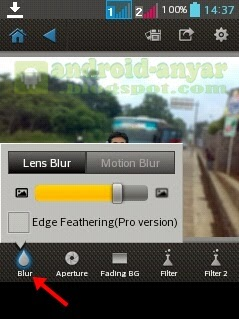 Cara Blur Background Gambar