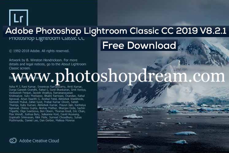 Adobe Photoshop Lightroom Classic CC 2019 V8 2 1 Free
