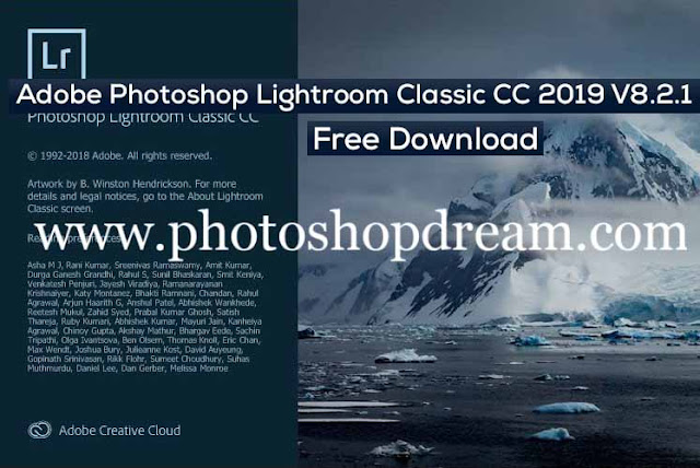 Adobe Photoshop Lightroom Classic CC 2019 V8.2.1 Free Download