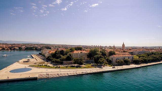 City of Zadar today