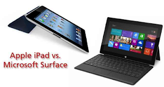 iPad and surface tablet war