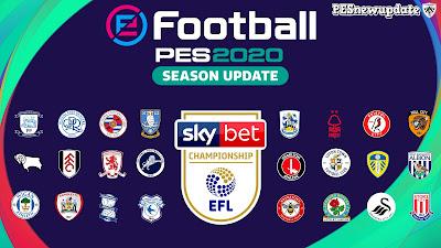 PES 2020 FULL EFL Championship Stadium Pack