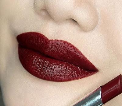 warna lipstik burgundy