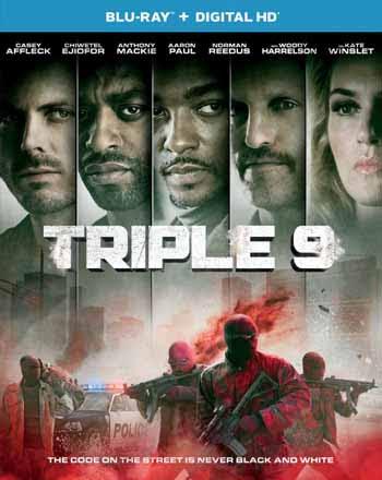 Triple 9 2016 480p 350MB BRRip Dual Audio [Hindi - English] MKV