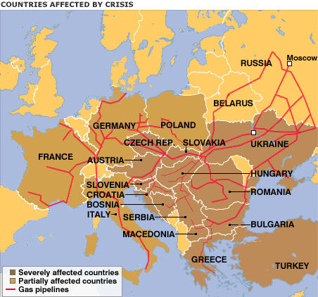 Ukraine Gas Dispute Russian 2