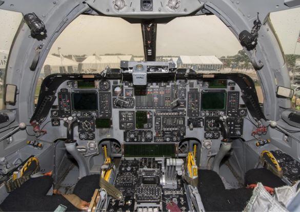 Boeing B-1B Lancer cockpit