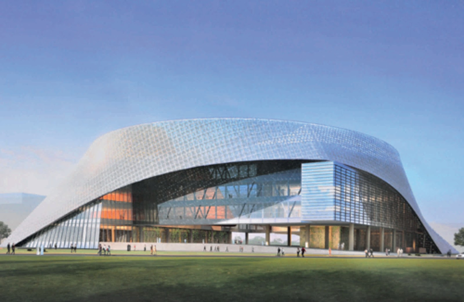 Ningxia International Conference Center By Tvsdesign A