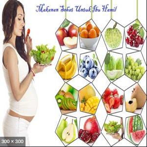 Diet seimbang untuk ibu hamil