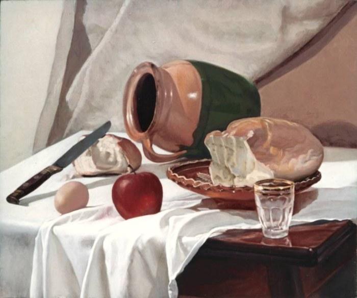 Венгерский художник. Nicolas Szuhodovszky