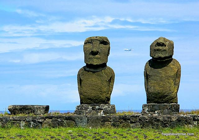 Ilha de Páscoa - Ahu Tahai