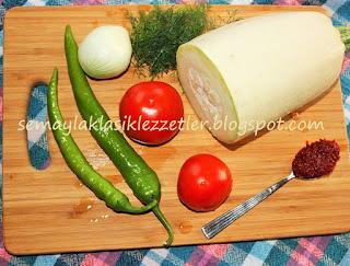 Zeytinyağlı Sakız Kabağı