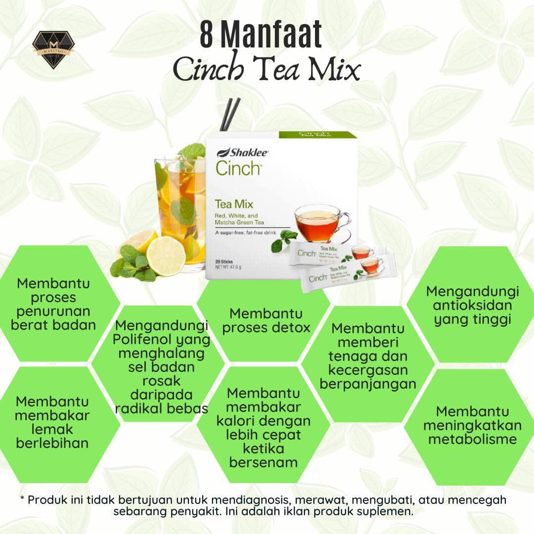 Cinch Tea Mix Shaklee Aeinna Musa Pengedar Shaklee Putrajaya