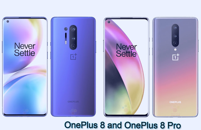 OnePlus 8 and OnePlus 8 Pro specification,Features,Comparison,price