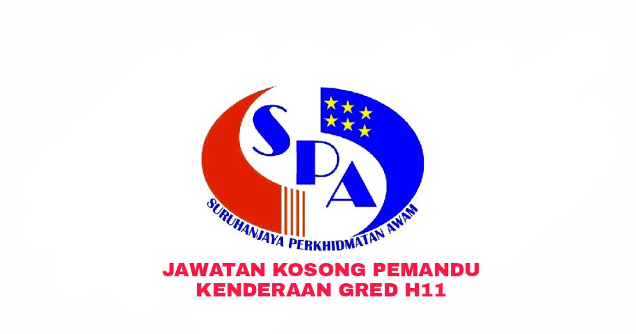 Permohonan Jawatan Kosong Pemandu Kenderaan Gred H11 2018 Sumber Kerjaya