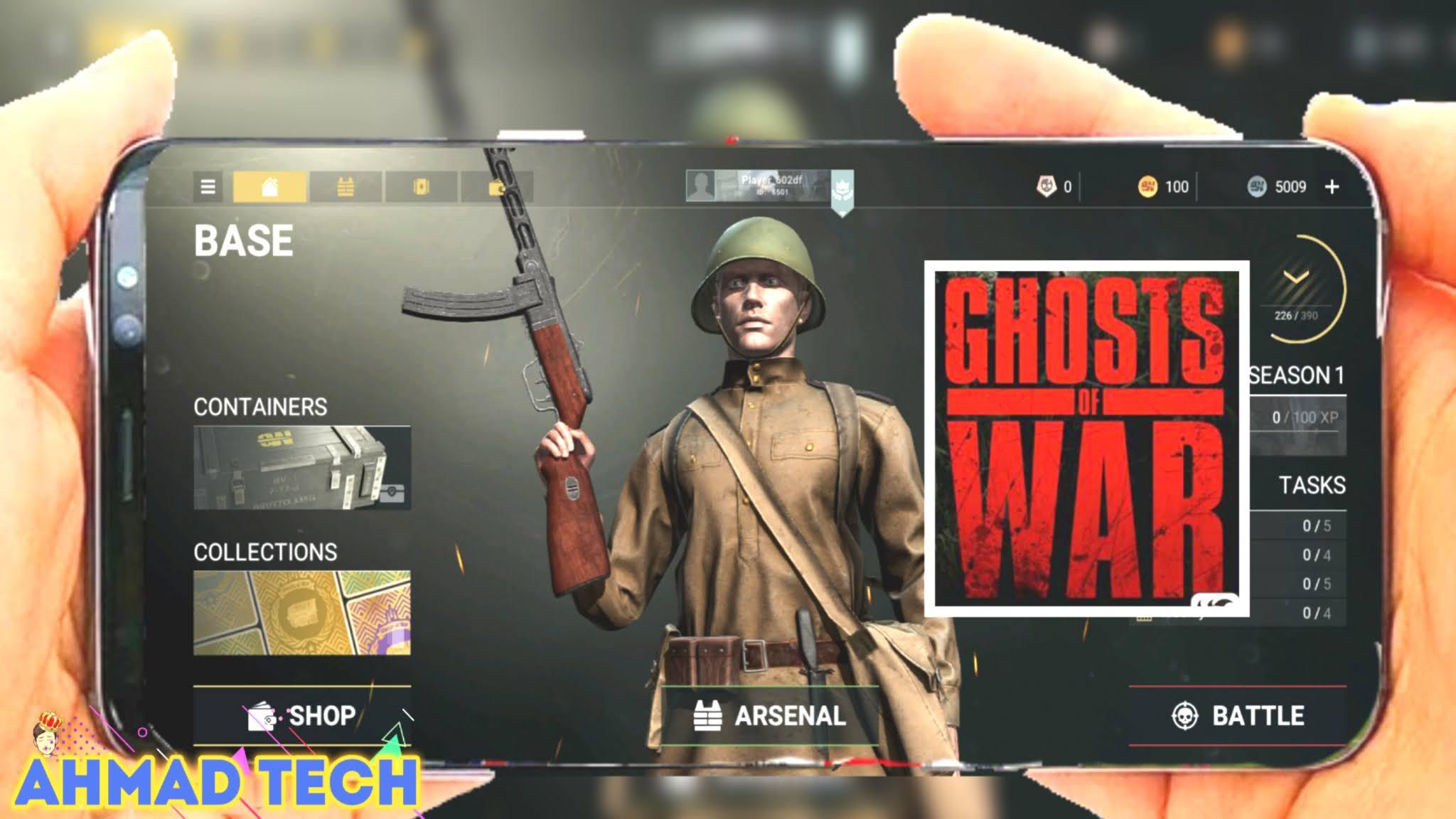تحميل لعبة الحرب العالمية التانية Ghosts Of War جرافيك HD+
