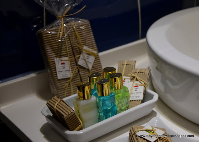 toiletries in Nowy Efendi Hotel