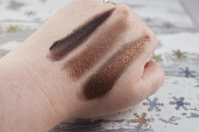Estee Edit Metallishadow Solar Blast Swatches