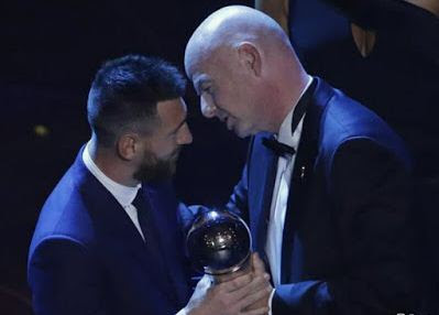 Messi Ballon D'or Awards