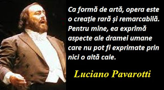 Citatul zilei: 12 octombrie - Luciano Pavarotti