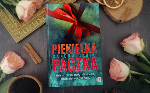 """Sandra Czoik """"Piekielna paczka"""" - ZAPOWIEDŹ"""