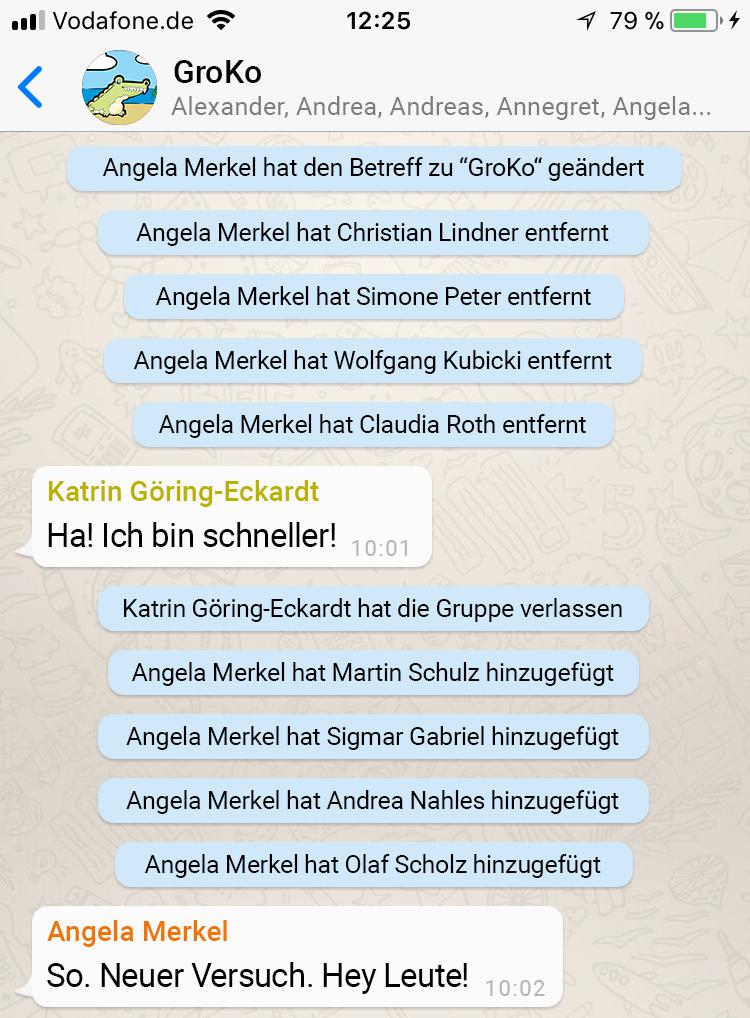 Whatsapp Hat Die Gruppe Verlassen Fake