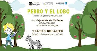 Concierto Didáctico PEDRO Y EL LOBO | Teatro Belarte