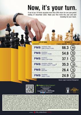 Melabur unit amanah dalam PMB Investment