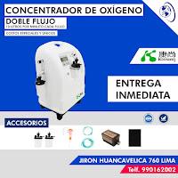 anuncio concentrado oxigeno medicinal 10 litros ubicacion