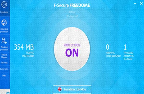 شرح وتنزيل برنامج تغير الايبيIP وأخفاء هويتك F-Secure Freedome VPN المجاني