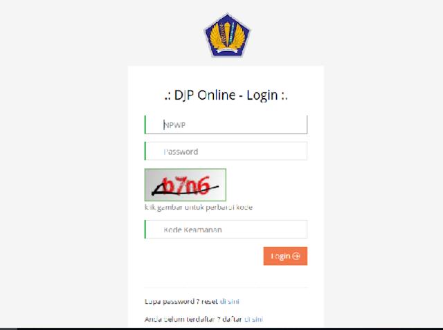 Cara Membuat Kode Billing Melalui DJP Online