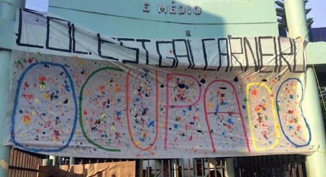 Roncador: General Carneiro é ocupado por alunos em protesto contra ações do Governo
