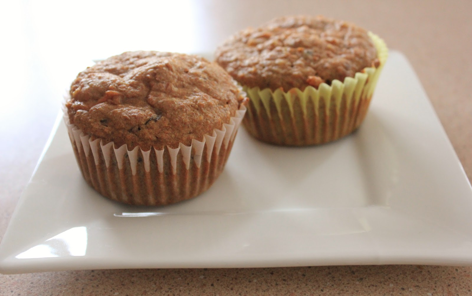 Fit and Lovin' it: Carrot Bran Muffins