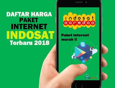 Daftar Harga Paket Internet Indosat Ooredoo Paling Terbaru 2018