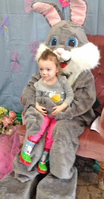 Easter Bunny at Eastman nature center
