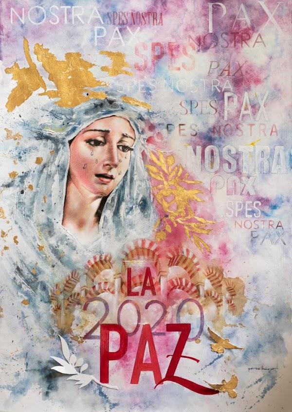 Pérez Indiano ilustra el cartel de la Hermandad de la Paz de Córdoba
