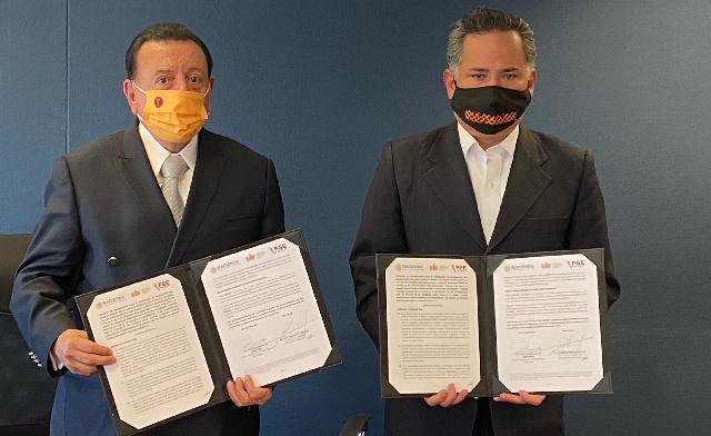 Unidad de Inteligencia Financiera y Fiscalía General del Estado de Baja California firman Convenio de Colaboración