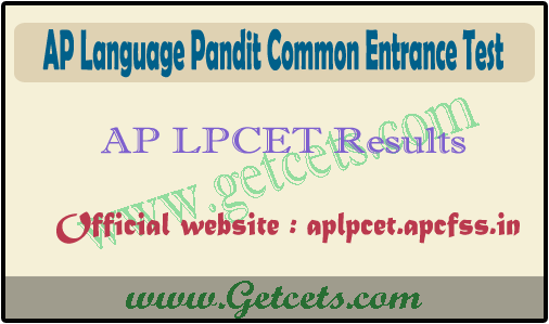 AP LPCET Results 2021-2022, tpt/hpt/upt course counselling