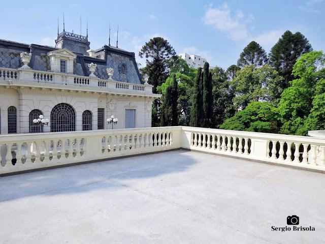 Palacete Basílio Jafet (Grande Terraço superior)