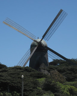Dutch windmill, Golden Gate Park, San Francisco, CA