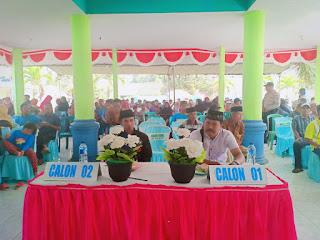 Panitia Pilkades Desa Serut Gelar Penyampaian Visi dan Misi