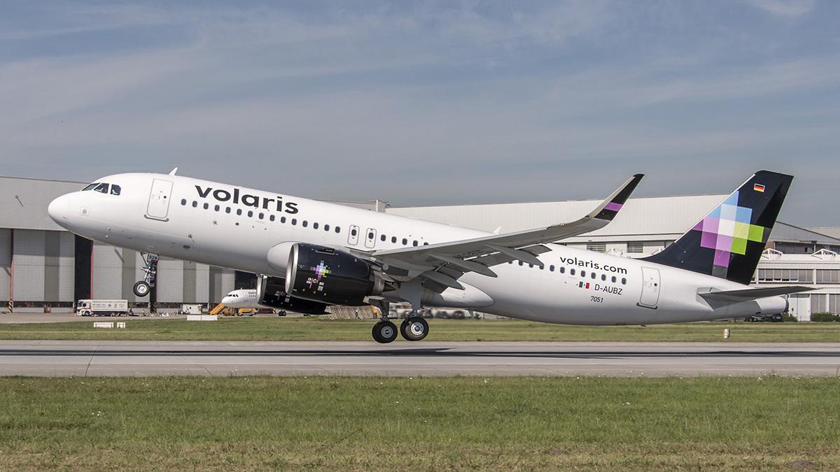 VOLARIS NUEVO AIRBUS A320NEO FLOTA 01