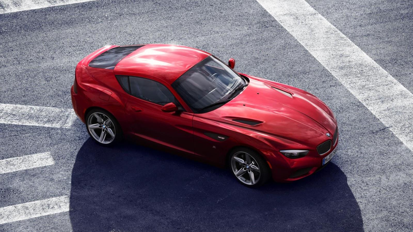 2012: BMW Zagato Coupe concept